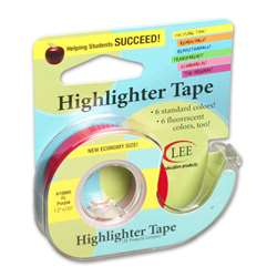 Removable Highlighter Tape Fluorscent Purple By Lee Products