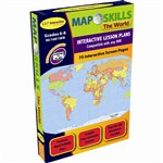 Map Skills The World Interactive Whiteboard Software By Milliken Lorenz Educational Press