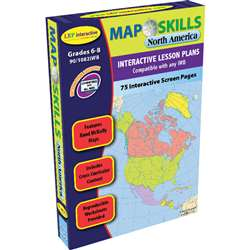 Map Skills North America Interactive Whiteboard Software By Milliken Lorenz Educational Press