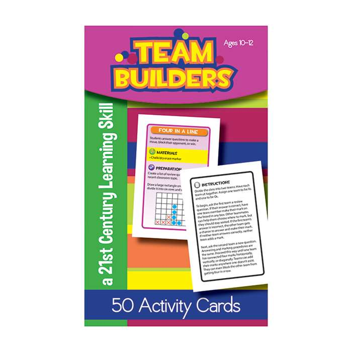 Team Builders Flash Cards Gr 5-6, LEP901108LE