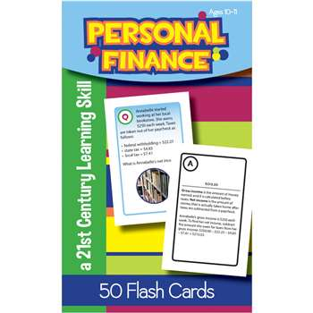 Personal Finance Flash Cards Gr 5, LEP901111LE