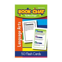 Book Chat Flash Cards, LEP901118LE