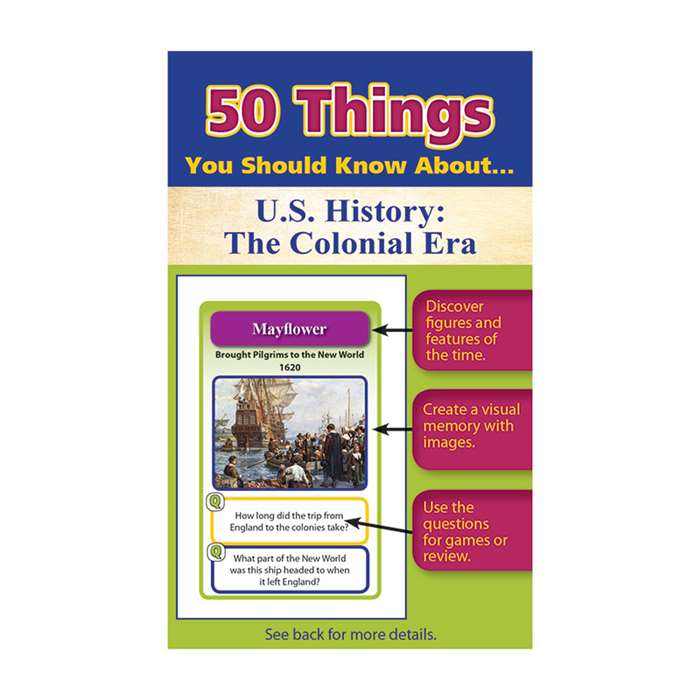 50 Things You Should Know About Us History The Col, LEP901121LE