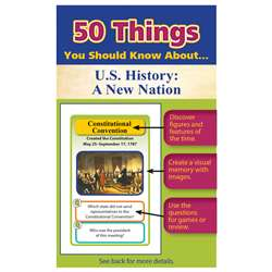 50 Things You Should Know About Us History A New N, LEP901123LE