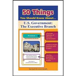 50 Things You Should Know About Us Government The , LEP901130LE