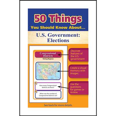 50 Things You Should Know About Us Government Elec, LEP901134LE