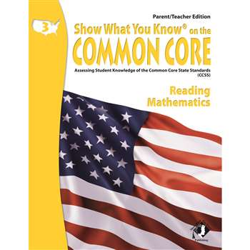 Gr 3 Parent Teacher Edition Reading & Math Show What You Know On The By Milliken Lorenz Educational Press