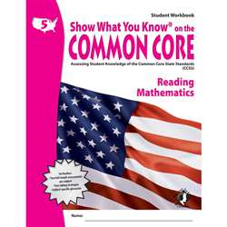 Gr 5 Student Workbook Reading & Math Show What You Know On The By Milliken Lorenz Educational Press