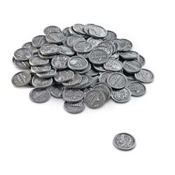 Play Money Nickels 100/Pk Plastic By Learning Resources