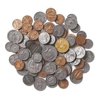 Coins Only For Coins In A Bank 94Pk Plastic By Learning Resources