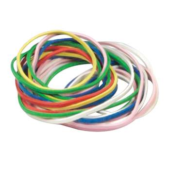 Rubber Bands 250/Pk By Learning Resources
