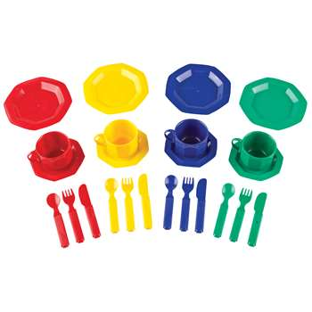 Pretend & Play Dish Set 24 Pieces By Learning Resources