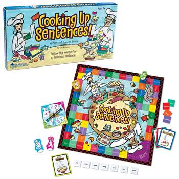 Cooking Up Sentences Parts Of Speech Game By Learning Resources