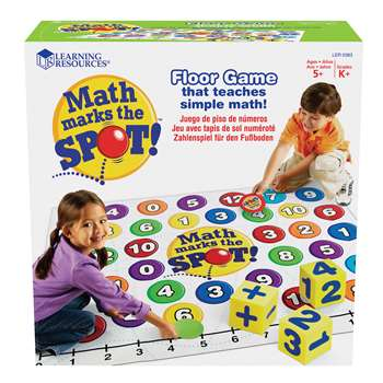 Math Marks The Spot A Math Activity Mat By Learning Resources