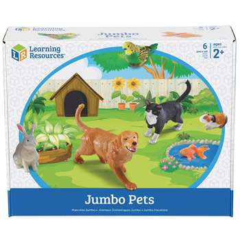 Jumbo Pets By Learning Resources