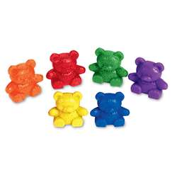 Counters Baby Bear 6 Colors 102-Pk By Learning Resources