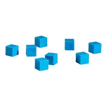 Base Ten Units Plastic Blue 100 Pk 1X1X1Cm By Learning Resources