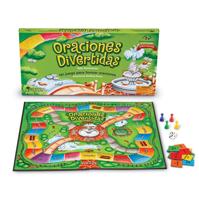 Oraciones Divertidas Silly Sentences Game By Learning Resources