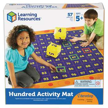 Hip Hoppin Hundred Mat By Learning Resources