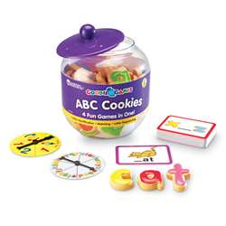 Goodie Games Abc Cookies By Learning Resources