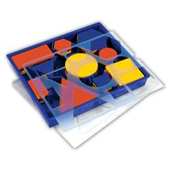 Attribute Blocks Set Desk Set By Learning Resources