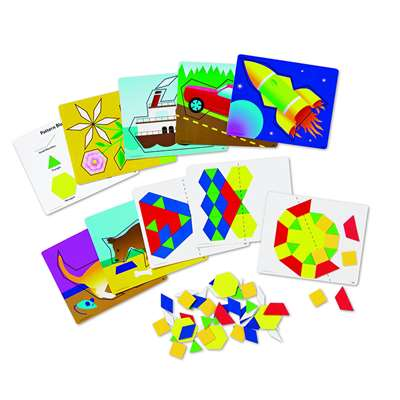 Magnetic Pattern Block Activity Set By Learning Resources