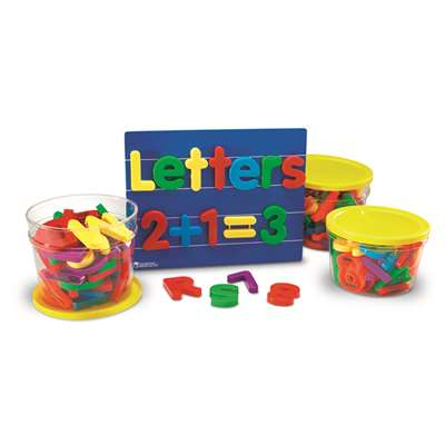 Jumbo Magnetic Combo Set 1 Each 0450-0452 By Learning Resources