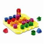 Geo Shapes Peg Board By Learning Resources