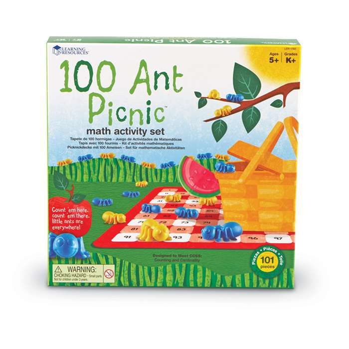 Shop 100 Ant Picnic Math Activity Set - Ler1760 By Learning Resources