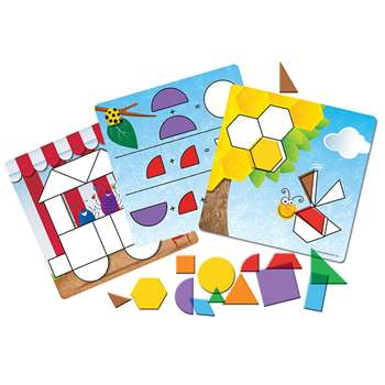 Shop Shapes Dont Bug Me Geometry Activity Set - Ler1762 By Learning Resources