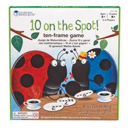 Shop 10 On The Spot Ten Frame Game - Ler1764 By Learning Resources