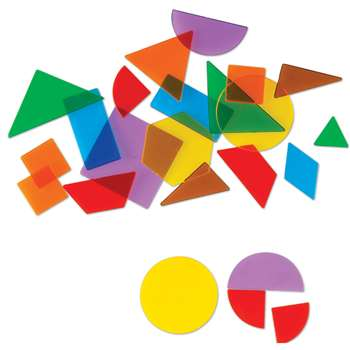 Shop Translucent Geometric Shapes - Ler1766 By Learning Resources