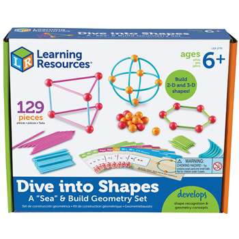 Shop Dive Into Shapes - Ler1773 By Learning Resources