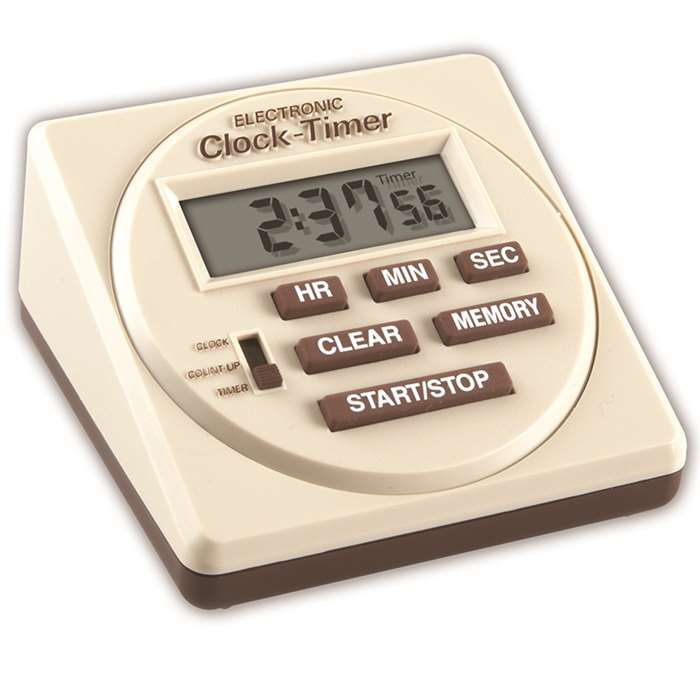 Digital Timer 3 X 3 Digital Electronic By Learning Resources