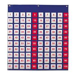 Pocket Chart Hundreds 26H X 27-1/2 By Learning Resources