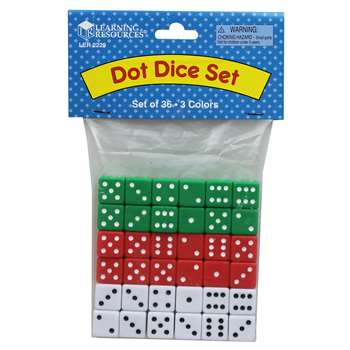 Dice Dot 36-Pk By Learning Resources