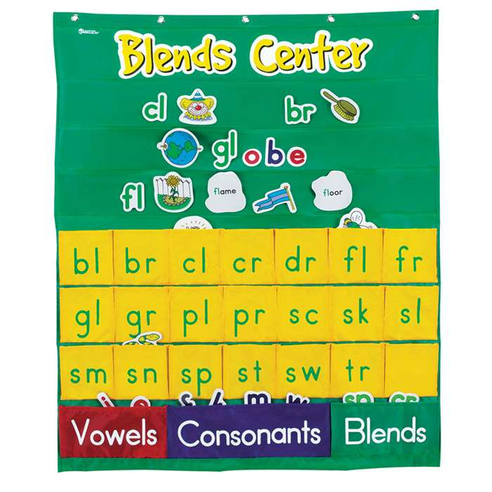 Blends Center Pocket Chart By Learning Resources