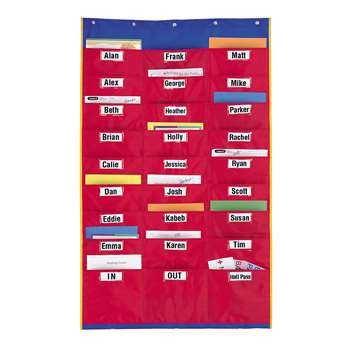 Organization Station Pocket Chart By Learning Resources