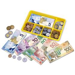 Canadian Currency X-Change Activity Set By Learning Resources