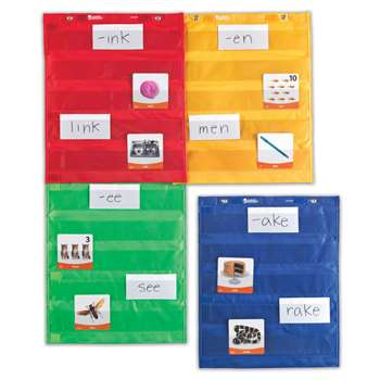 Magnetic Pocket Chart Squares By Learning Resources