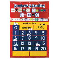 Numbers & Counting Pocket Chart By Learning Resources