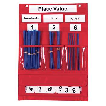 Counting & Place Value Pocket Chart By Learning Resources