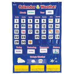 Calendar And Weather Pocket Chart By Learning Resources