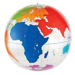 Inflatable Labeling Globe By Learning Resources