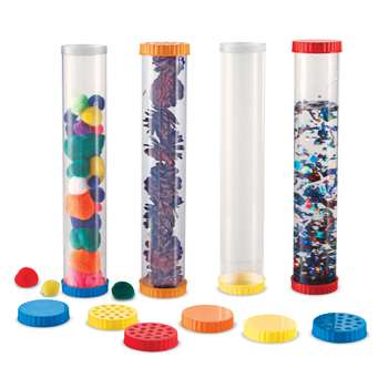 Primary Science Sensory Tubes 4 Set By Learning Resources