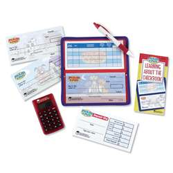 Pretend & Play Checkbook W/ Calculator By Learning Resources
