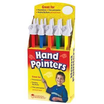 Hand Pointers Set Of 10 By Learning Resources