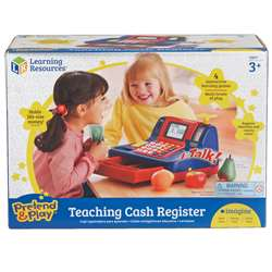 Teaching Cash Register By Learning Resources