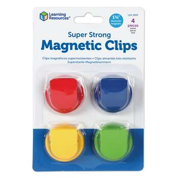 Super Strong Magnetic Clips By Learning Resources