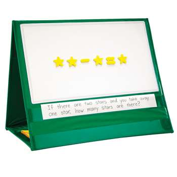 Write-On/Wipe-Off Magnetic Demonstration Tabletop Pocket Chart By Learning Resources